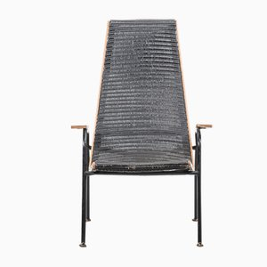 Mid-Century Modernist Armchair by Lloyd Loom for Lusty