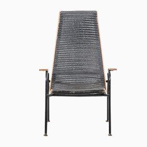Modernistischer Mid-Century Armlehnstuhl von Lloyd Loom für Lusty