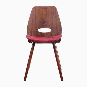 Soviet Chairs by Frantisek Jirak for Tatra Nabytok, 1960s, Set of 4