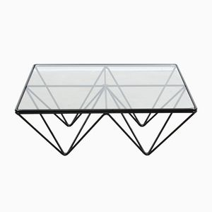 Vintage Italian Geometric Coffee Table, 1970s