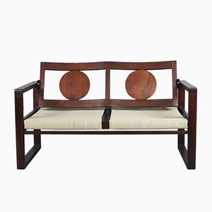 Basque Modernist Art Deco Bench, 1930s