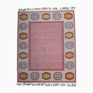 Schwedischer Vintage Teppich von Ingegerd Silow