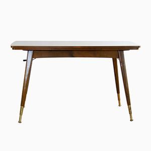 Mid-Century Height- and Length-Adjustable Dining Table