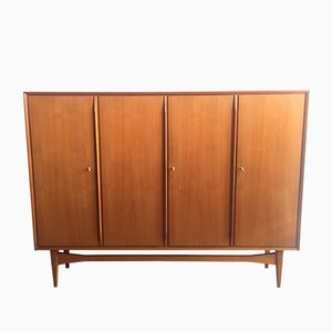 Vintage High Board aus Teak, 1960er