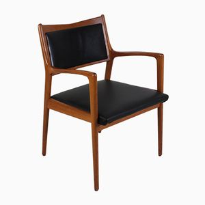 Mid-Century Swedish Teak Armchair by Karl-Erik Ekselius for JOC Vetlanda