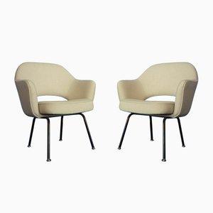 Mid-Century Konferenzstühle von Eero Saarinen für Knoll International, 1950er, 2er Set