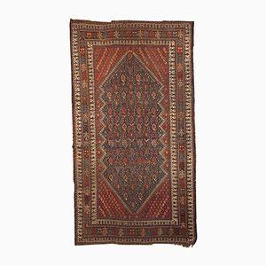 Antiker Persischer Shiraz Teppich, 1880er