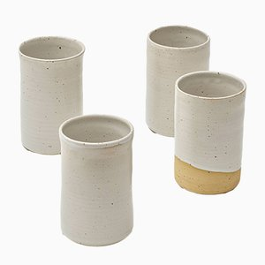 Bezanson & Balzar Ceramic Cups by R.EH for Reiss, Set of 4