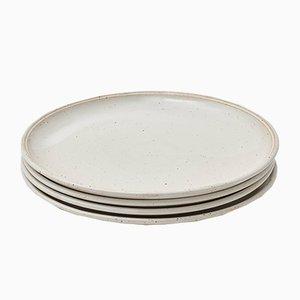 Grandes Assiettes en Céramique par R.EH pour Reiss, Set de 4