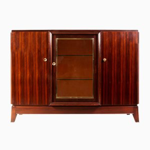 French Art Deco Sideboard in Macassar Ebony, 1930s