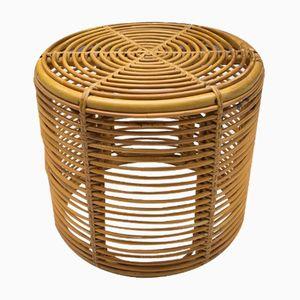 Mid-Century Bamboo Stool