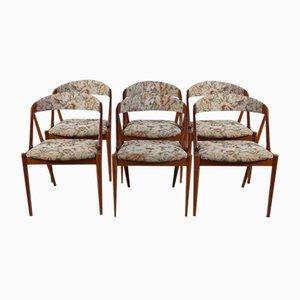 Mid-Century Dining Chairs by Kai Kristiansen, Set of 6
