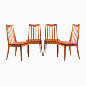 Vintage Fresco Solid Teak Dining Chairs from G -Plan, Set of 4
