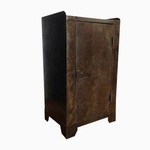 Vintage Workshop Cabinet in Metal