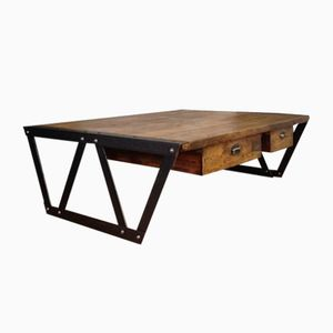 Eiffel Style Industrial Coffee Table
