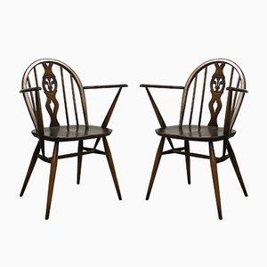 No.371 Windsor Stühle von Lucian Ercolani für Ercol, 1970er, 2er Set