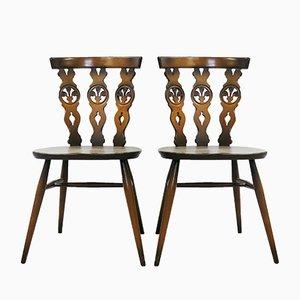 Windsor Stühle von Lucian Ercolani für Ercol, 1960er, 4er Set