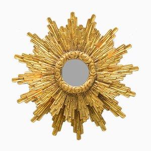 Mid-Century Illuminated Sunburst Mirror, 1950s