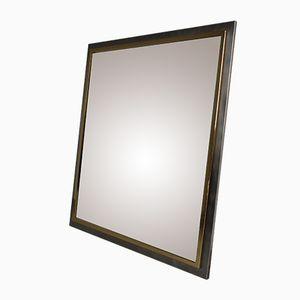 24-Karat Gold-Plated Mirror from Belgochrom, 1970s