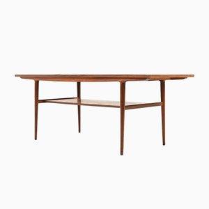 Danish Teak Sofa Table, 1960s