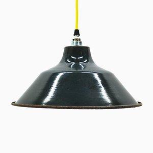 Französische Industrielle Vintage Lampe, 1920er