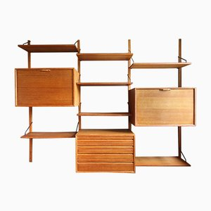Oak Wall Unit by Poul Cadovius from Royal System, 1960s
