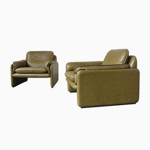DS-61 Sessel von de Sede, 1970er, 2er Set