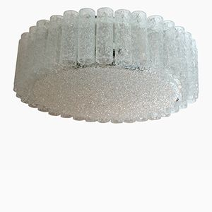 Large Organic Flush Mount from Doria, 1960s