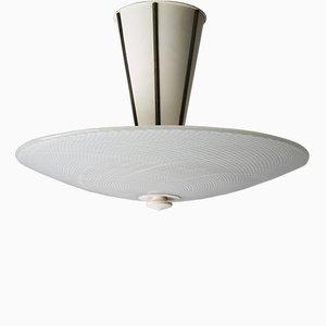 Große Reticello Deckenlampe von Venini