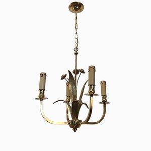 Deckenlampe mit Murano Glas, 1940er