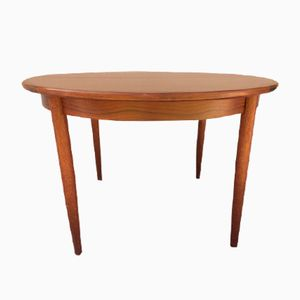 Vintage Round Rosewood Dining Table