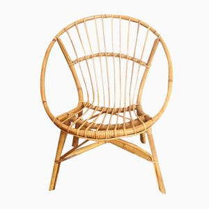 French Rattan Children's Chair, 1960s