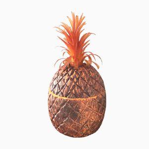 Seau à Glaçons Vintage Pineapple de Vyn-a-Wood Evers Ind. Inc., Etats-Unis