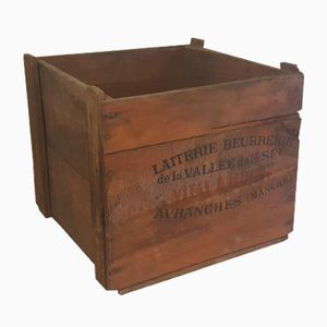Vintage Square Shaped Wooden Box