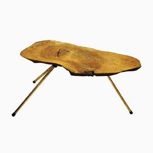 Vintage Walnut Trunk Side Table by Carl Auböck