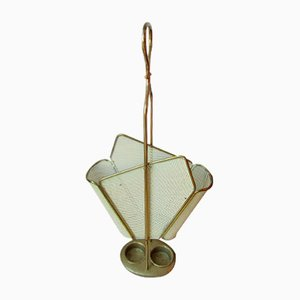Vintage Brass Umbrella Stand, 1960s