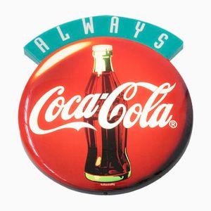 Beleuchtetes Vintage Coca-Cola Schild