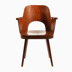 Mid-Century Armlehnstuhl von Oswald Haerdtl für TON