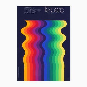 Französisches Werbeplakat von Julio Le Parc für Atelier Arcay