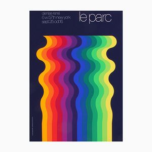 French Promotional Poster by Julio Le Parc for Atelier Arcay