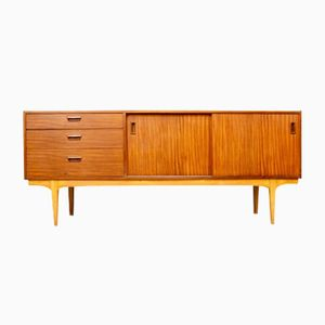 Mid-Century Pale Teak Sideboard from Nathan