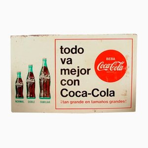Spanish Coca Cola Sign, 1960s
