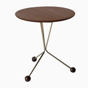 Teak & Brass Coffee Table by Albert Larsson for Alberts Tibro, 1952