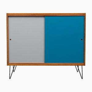 Vintage Sideboard mit Zweifarbigen Türen, 1960er