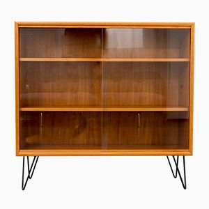 Vintage Display Cabinet with Hairpin Legs, 1960s