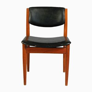 Dining Chair Model 198 by Finn Juhl for France & Søn, 1960s