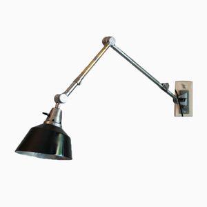 Wandlampe von Curt Fischer für Midgard / Industriewerke Auma