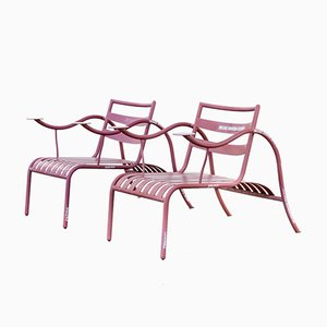 Chaises Thinking Man de Jasper Morrison pour Capellini, 1980s, Set de 2