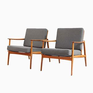 Armchairs by Eugen Schmidt, 1950s, Set of 2