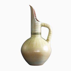 Französische Horus Vase von Fernand Lacaf, 1957
